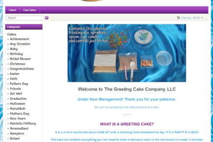 The greeting cake company